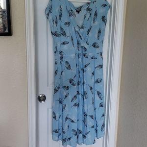 Torrid Challis V Hem Dress